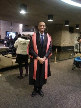 The graduation stance