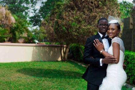 Love in the garden...Happy married life