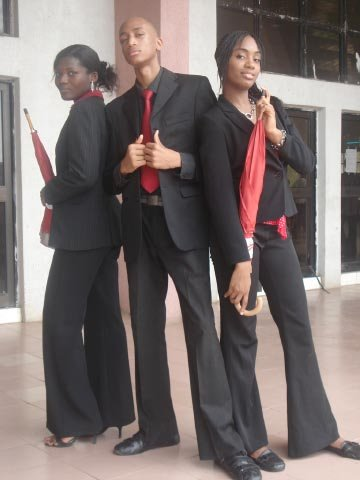Vicki, Deolu, Tanna | Tech Week | This picture made waves...lol