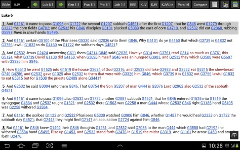 Bible App: MySword for Android